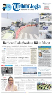 Cover Tribun Jogja 30 Mei 2019