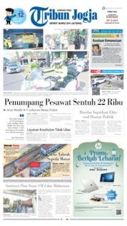 Cover Tribun Jogja 31 Mei 2019