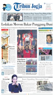 Cover Tribun Jogja 03 Juni 2019