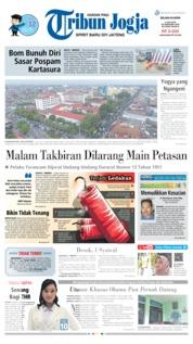 Cover Tribun Jogja 04 Juni 2019