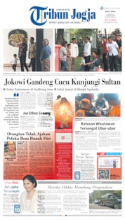 Cover Tribun Jogja 08 Juni 2019