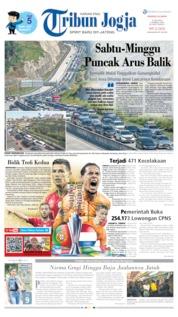 Cover Tribun Jogja 09 Juni 2019