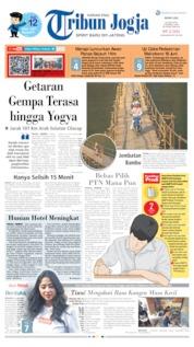 Cover Tribun Jogja 10 Juni 2019