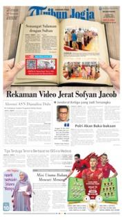 Cover Tribun Jogja 11 Juni 2019