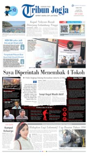 Cover Tribun Jogja 12 Juni 2019