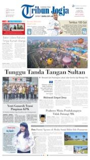 Cover Tribun Jogja 13 Juni 2019