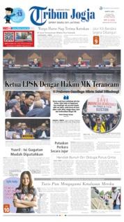Cover Tribun Jogja 15 Juni 2019