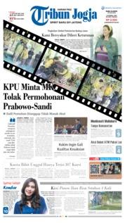 Cover Tribun Jogja 19 Juni 2019