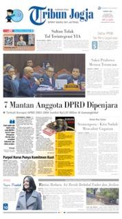 Cover Tribun Jogja 20 Juni 2019