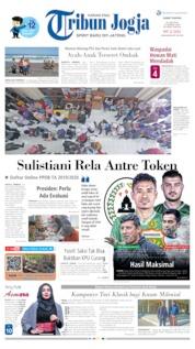 Cover Tribun Jogja 21 Juni 2019