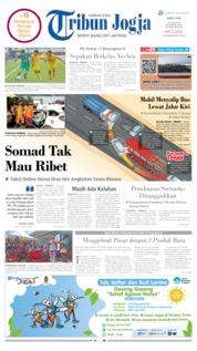 Cover Tribun Jogja 22 Juni 2019