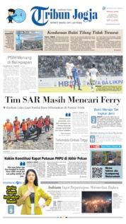 Cover Tribun Jogja 23 Juni 2019