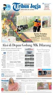 Cover Tribun Jogja 24 Juni 2019
