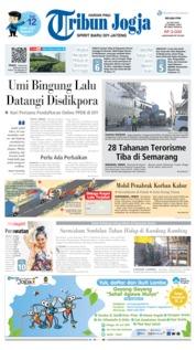 Cover Tribun Jogja 25 Juni 2019