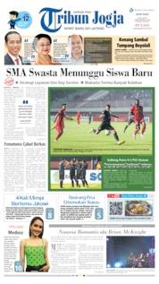 Cover Tribun Jogja 08 Juli 2019