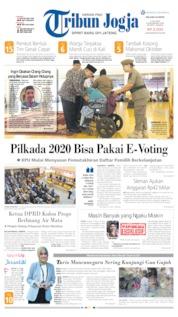 Cover Tribun Jogja 09 Juli 2019