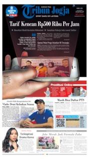 Cover Tribun Jogja 10 Juli 2019