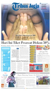 Tribun Jogja Cover 11 July 2019