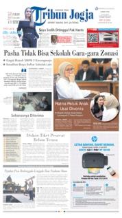 Tribun Jogja Cover 12 July 2019