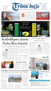 Tribun Jogja Cover 13 July 2019
