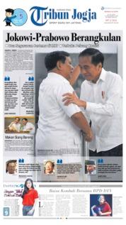 Cover Tribun Jogja 14 Juli 2019