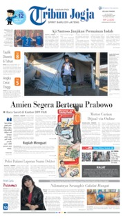 Cover Tribun Jogja 16 Juli 2019