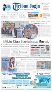 Cover Tribun Jogja 18 Juli 2019