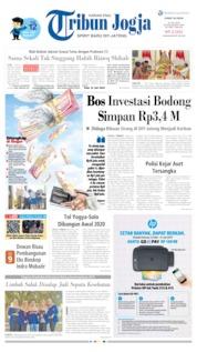 Cover Tribun Jogja 19 Juli 2019