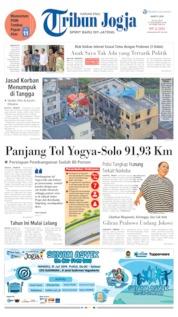 Cover Tribun Jogja 20 Juli 2019