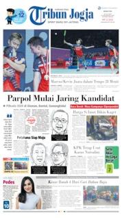 Tribun Jogja Cover 22 July 2019