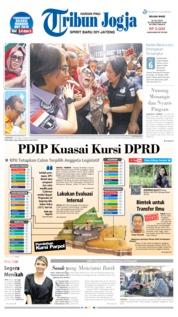 Cover Tribun Jogja 23 Juli 2019