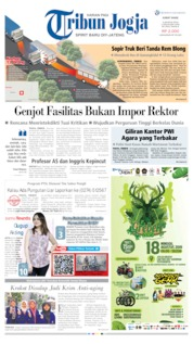 Cover Tribun Jogja 02 Agustus 2019