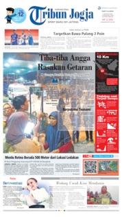 Cover Tribun Jogja 03 Agustus 2019