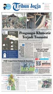 Cover Tribun Jogja 04 Agustus 2019