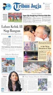 Cover Tribun Jogja 05 Agustus 2019