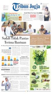 Cover Tribun Jogja 06 Agustus 2019