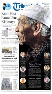 Cover Tribun Jogja 07 Agustus 2019