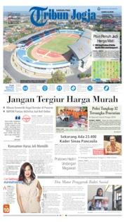 Cover Tribun Jogja 08 Agustus 2019