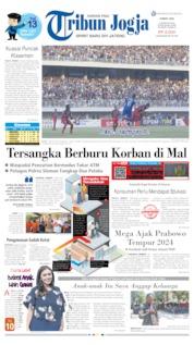 Cover Tribun Jogja 09 Agustus 2019