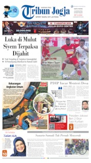 Cover Tribun Jogja 10 Agustus 2019