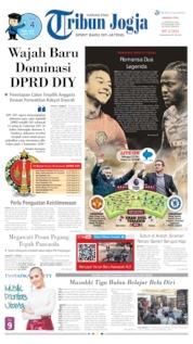 Cover Tribun Jogja 11 Agustus 2019