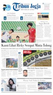 Cover Tribun Jogja 13 Agustus 2019