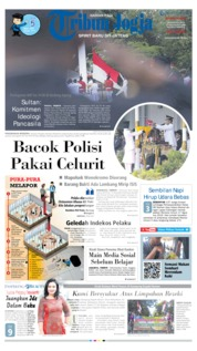 Cover Tribun Jogja 18 Agustus 2019