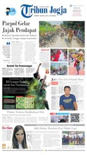 Tribun Jogja Cover 19 August 2019