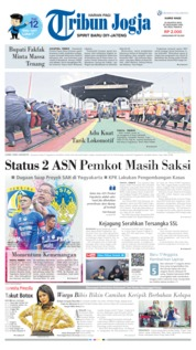 Cover Tribun Jogja 22 Agustus 2019