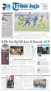 Tribun Jogja Cover 23 August 2019