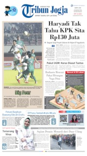 Tribun Jogja Cover 24 August 2019