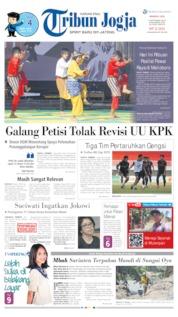 Cover Tribun Jogja 08 September 2019