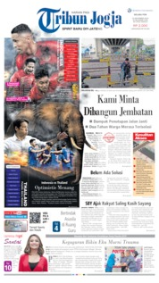 Cover Tribun Jogja 10 September 2019