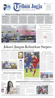 Cover Tribun Jogja 11 September 2019